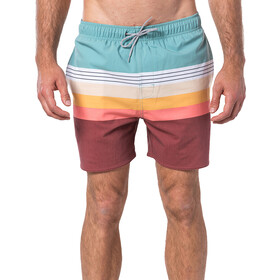 Rip Curl Layered 16'' Volley Boardshorts Herrer, green